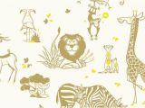Safari Wall Murals for Nursery Safari Animals Wallpaper Kids Room Wall Murals