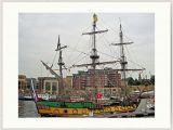 Sailing Ship Wall Murals Frigate Shtandart Starboard Side