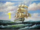 Sailing Ship Wall Murals wholesale Sail Ship Wall Art for Resale Group Buy Cheap