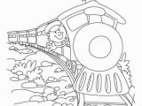 Saint Jude Coloring Page Steam Train Cartoon Coloring Sheet for Preschool Children