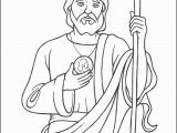 Saint Jude Coloring Page the Big Christian Family by Century 1st 5th