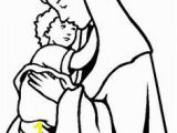 Saint Mary Coloring Pages 435 Best Catholic Coloring Sheets Images
