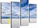 Salt Lake City Wall Murals White Salt Flats Near Salt Lake City Utah Canvas Wall Art