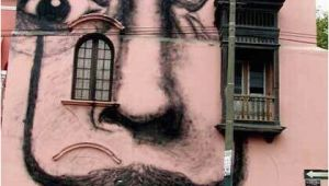 Salvador Dali Wall Mural Salvador Dali Art Painted On A Building