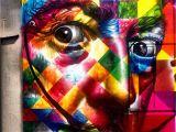 Salvador Dali Wall Mural Salvador Dali by Eduardo Kobra