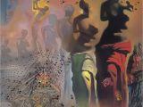 Salvador Dali Wall Mural the Hallucinogenic toreador by Salvador Dali