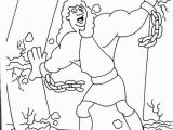 Samson and Delilah Coloring Pages Samson Coloring Pages for Kids Inspirational More Samson Coloring
