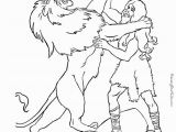 Samson and the Lion Coloring Pages 14 Best Kids Bible Class Images On Pinterest