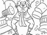 Samson and the Lion Coloring Pages 41 Best Bible Stories Images On Pinterest
