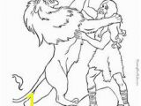Samson and the Lion Coloring Pages 652 Best Bible Coloring Pages Images On Pinterest