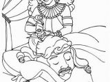 Samson and the Lion Coloring Pages Delilah Cutting Samson S Hair Coloring Page From Samson Category
