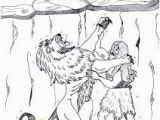 Samson Coloring Pages for Kids 743 Best Bible Stories Images On Pinterest In 2018