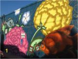 San Diego Wall Mural Colorful Street Art Painted by Jet Martinez During the 2016