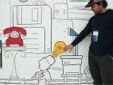 San Diego Wall Mural Ellucian 2018 Interactive Mural — Wall and Wall