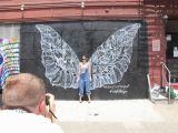 San Diego Wall Murals Angel Wings Street Art