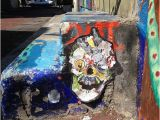 San Francisco Wall Mural Booz Skull Balmy Alley Jonathan Nafarrete Schotte Street