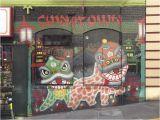 San Francisco Wall Mural Mural Chinatown San Francisco