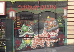 San Francisco Wall Mural Mural Chinatown San Francisco