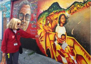 San Francisco Wall Mural Murals & the Multi Ethnic Mission Walking tour Picture Of