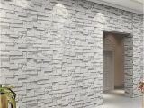 Sandstone Wall Murals 3d Embossed Vinyl Wallpaper Mural Papel De Parede Modern Stone Brick