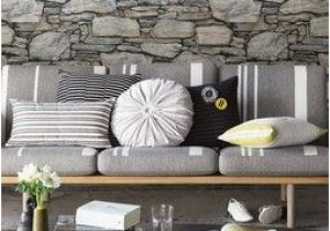 Sandstone Wall Murals Grey Stone Wall Ultra Removable Wallpaper