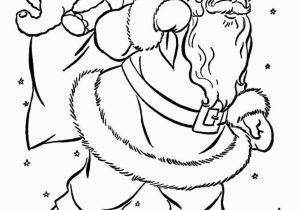 Santa and Snowman Coloring Pages Free Printable Christmas Coloring Pages for Kids
