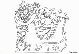 Santa Claus On His Sleigh Coloring Pages Christmas Coloring Pages for Kids