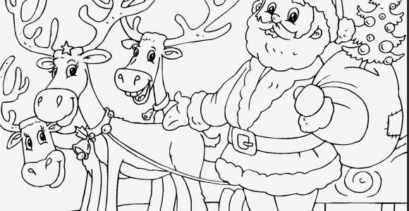 Santa Claus with Reindeer Coloring Pages 30 Santa Claus Coloring Pages Gallery
