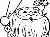 Santa Coloring Pages Printable Free Santa Claus Face Coloring Pages Az Coloring Pages with