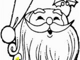 Santa Face Coloring Page Printables 395 Best Christmas Coloring Pages Images On Pinterest