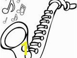 Saxophone Coloring Pages 130 Best Coloring Pages Images