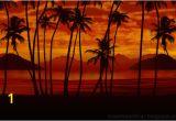 Scarface Sunset Wall Mural Scarface Wallpaper Palm Trees Wallpapersafari