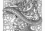 Scary Coloring Pages for Adults A Scary Witch Color All these Stars