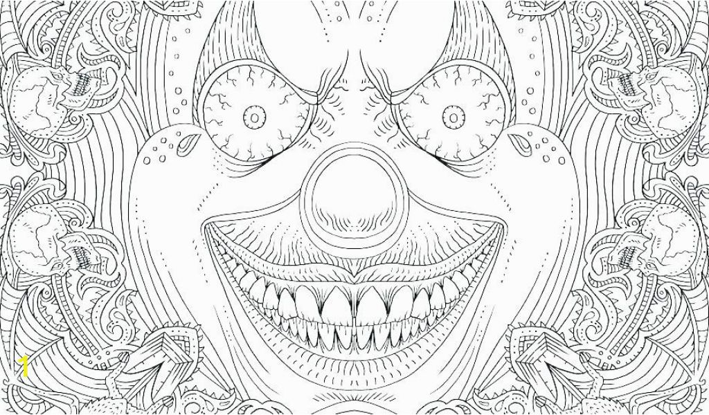 Scary Coloring Pages for Adults Halloween Scary Coloring ...