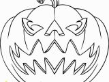 Scary Pumpkin Coloring Pages Halloween to Print and Color for Free