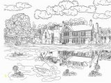 Scenic Coloring Pages Adults Coloring Book 29 Remarkable Free Full Page Coloring Sheets