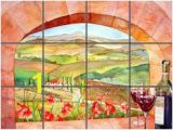 Scenic Tile Murals 11 Best Italian Mural Backsplashes for Kitchen Remodeling Ideas