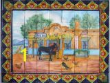 Scenic Tile Murals 1380 Best Tile Murals Images In 2019