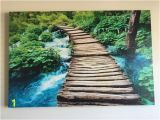 "Scenic Wall Murals Nature Beautiful Large Nature Waterfall Wall Art Picture 32""x48"""