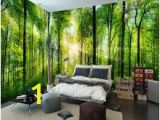 Scenic Wall Murals Nature Custom Mural Natural Scenery Wallpaper forest 3d Landscape