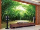Scenic Wall Murals Nature Hot Selling Bamboo Design 3d Wall Murals Home Decor