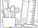 School Supplies Coloring Pages Printables Free Back to School Coloring Pages