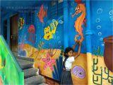School Wall Mural Painting Schoolpainting Wallpainting Wallpapers Artpainting