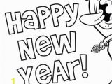 Scooby Doo Color Pages Scooby Doo Coloring Page Happy New Year Scooby