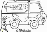 Scooby Doo Coloring Pages Mystery Machine Printable Scooby Doo Coloring Pages for Kids