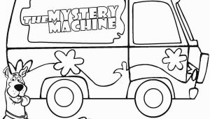 Scooby Doo Mystery Machine Coloring Pages Printable Scooby Doo Coloring Pages for Kids