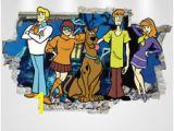 Scooby Doo Wall Mural Girls Scooby Doo