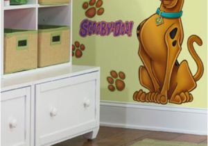Scooby Doo Wall Mural Roommates Scooby Doo Peel & Stick Giant Wall Decal at Menards