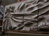 Sculptured Wall Mural Carved Ceramic Tile