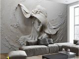 Sculptured Wall Mural Ohcde Dheark Custom 3d Stereo Embossed Cement Characters Sculpture